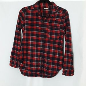 Hollister  | Plaid Flannel long sleeve